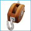 WOOD PULLEY